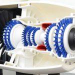 Turbine Druck 3D